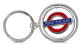 London Underground Mind The Gap  Metal Spinner Keyring (gwc)